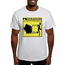 Science In Progress (yellow) T-Shirt