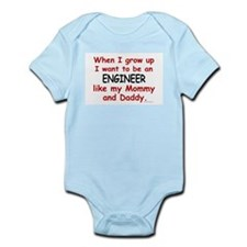 Engineer (Like Mommy & Daddy) Infant Bodysuit