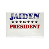 JAIDEN for president Rectangle Magnet