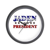 JADEN for president Wall Clock