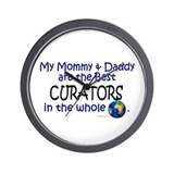 Best Curators In The World Wall Clock