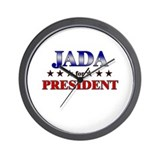 JADA for president Wall Clock