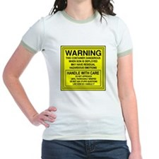 Hazardous Military Mom T
