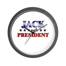 JACK for president Wall Clock