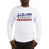 JABARI for president Long Sleeve T-Shirt