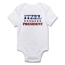 ITZEL for president Onesie