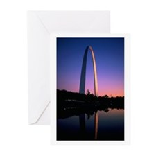 Funny St louis Greeting Cards (Pk of 10)