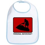 Personal Watercraft (red) Bib