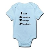 Just Empty Every Pocket Infant Bodysuit