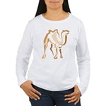 Stylized Camel Women's Long Sleeve T-Shirt