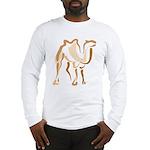 Stylized Camel Long Sleeve T-Shirt