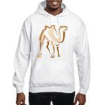 Stylized Camel Hooded Sweatshirt
