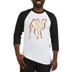 Stylized Camel Baseball Jersey