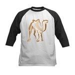 Stylized Camel Kids Baseball Jersey