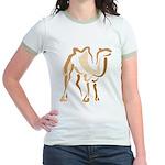 Stylized Camel Jr. Ringer T-Shirt