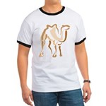 Stylized Camel Ringer T