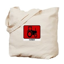 Farmer (red) Tote Bag