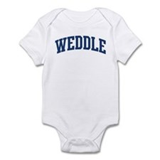 WEDDLE design (blue) Infant Bodysuit