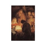 Holy Family Christmas Rectangle Magnet (10 pack)