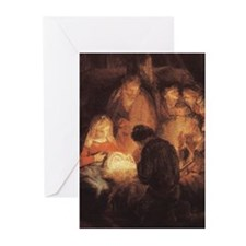 Holy Family Christmas Greeting Cards (Pk of 10)
