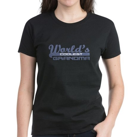 World's Coolest Grandma Women's Dark T-Shirt