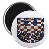 "Funny Crested 4th of july 2.25"" Magnet (10 pack)"