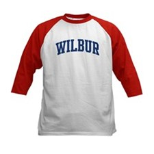 WILBUR design (blue) Tee