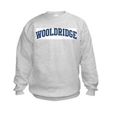 WOOLDRIDGE design (blue) Sweatshirt