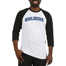 WOOLDRIDGE design (blue) Baseball Jersey