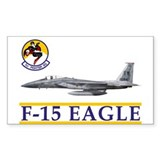 1st Fighter Squadron Rectangle Decal