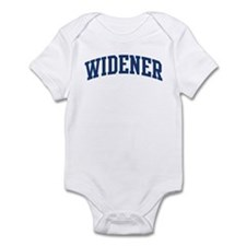 WIDENER design (blue) Infant Bodysuit