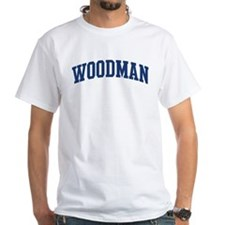 WOODMAN design (blue) Shirt