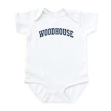WOODHOUSE design (blue) Infant Bodysuit