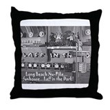 Pike Laff in the Dark Throw Pillow