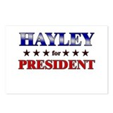 HAYLEY for president Postcards (Package of 8)