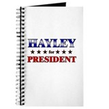 HAYLEY for president Journal