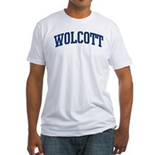 WOLCOTT design (blue) Shirt