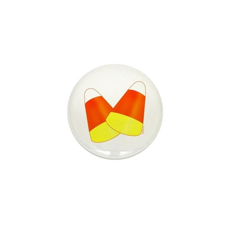 Two Candy Corn Mini Button (100 pack)