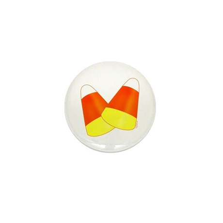 Two Candy Corn Mini Button