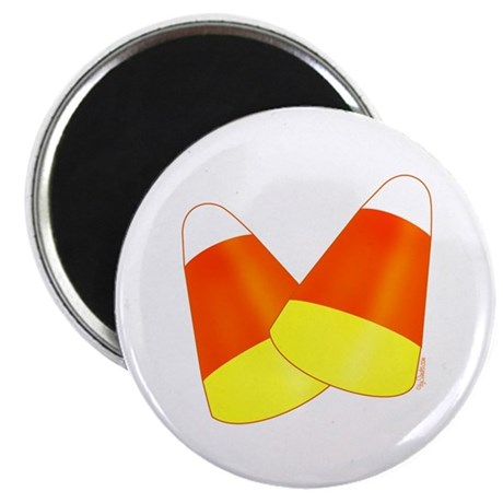 "Two Candy Corn 2.25"" Magnet (100 pack)"