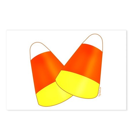 Two Candy Corn Postcards (Package of 8)