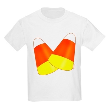 Two Candy Corn Kids Light T-Shirt