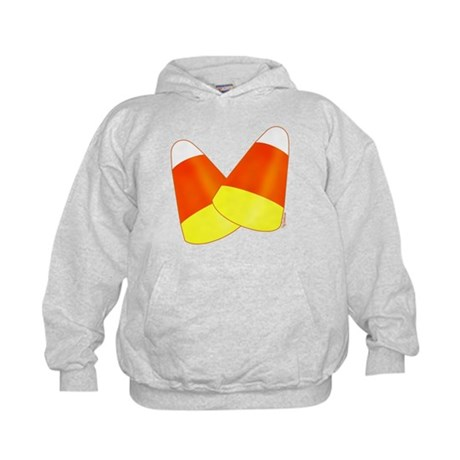 Two Candy Corn Kids Hoodie