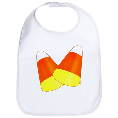Two Candy Corn Bib