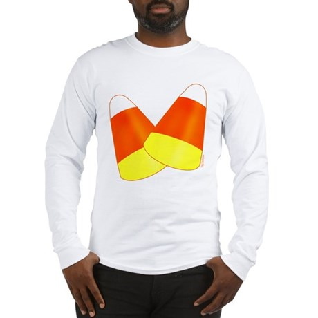 Two Candy Corn Long Sleeve T-Shirt