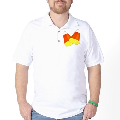 Two Candy Corn Golf Shirt