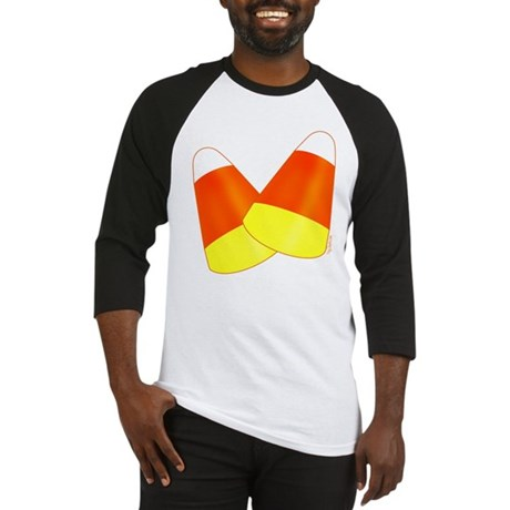Two Candy Corn Baseball Jersey