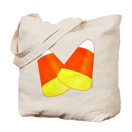 Two Candy Corn Tote Bag