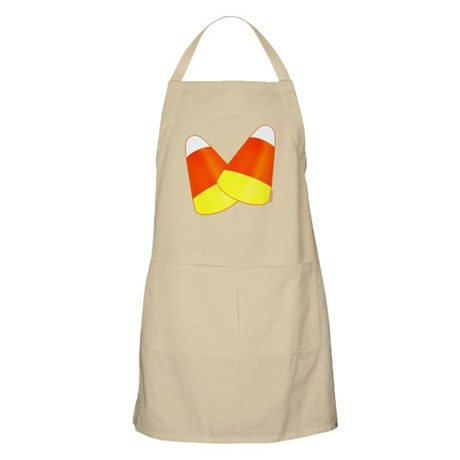 Two Candy Corn BBQ Apron