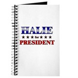 HALIE for president Journal